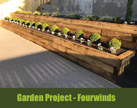 landscape garden project fourwinds