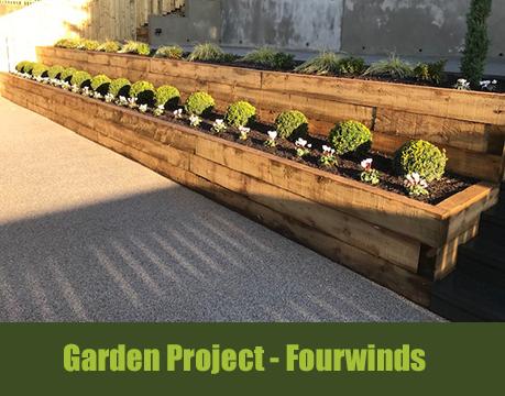 landscape garden project fourwinds