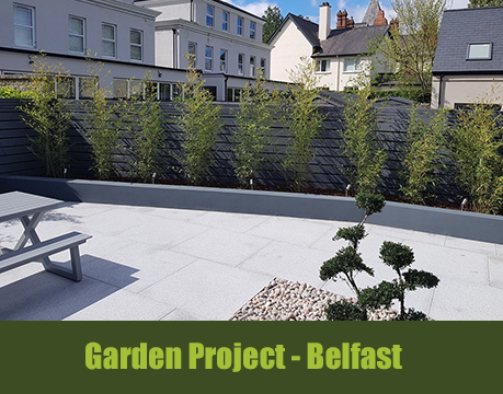 landscaping project belfast